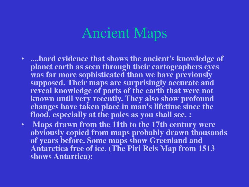 Ancient Maps