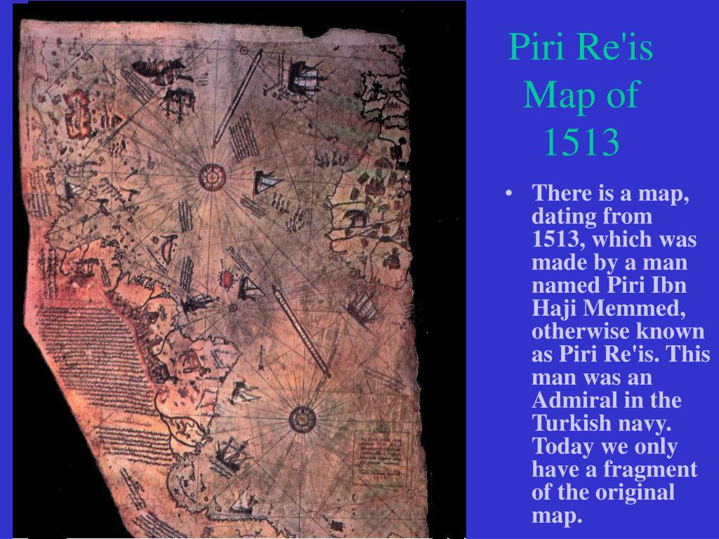 Piri Re'is Map of 1513