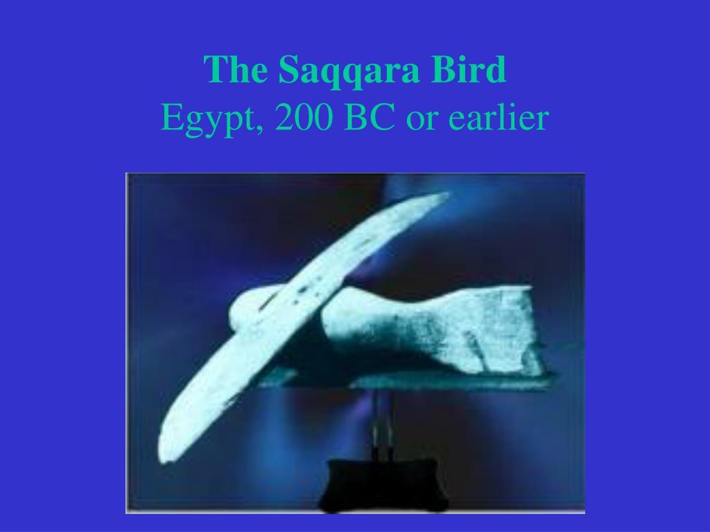 The Saqqara Bird
