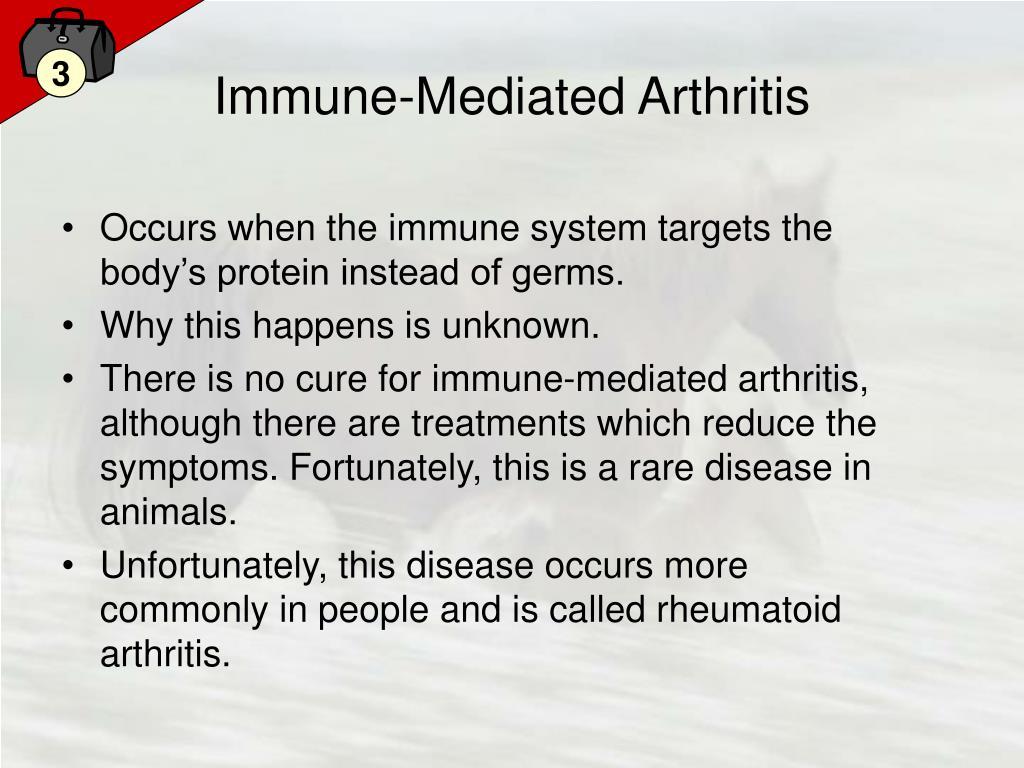 Immune-Mediated Arthritis
