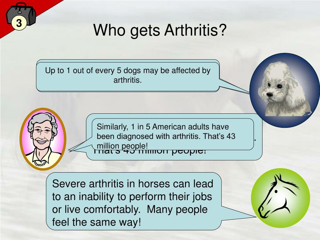 Who gets Arthritis?