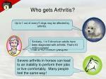 who gets arthritis