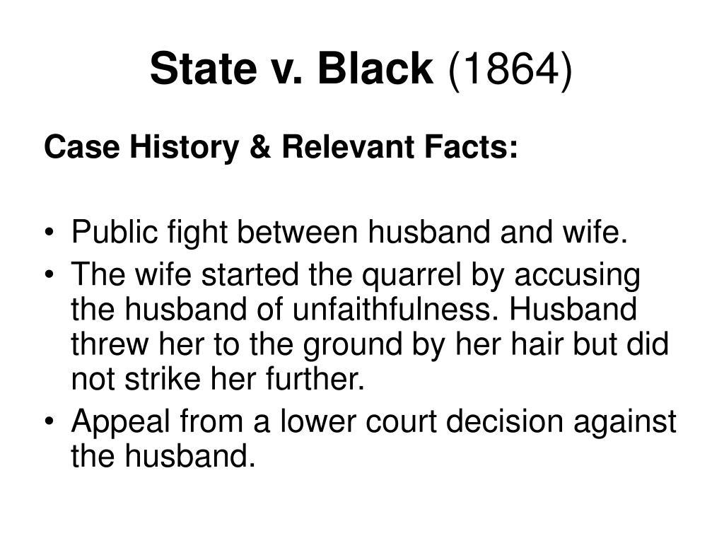 State v. Black