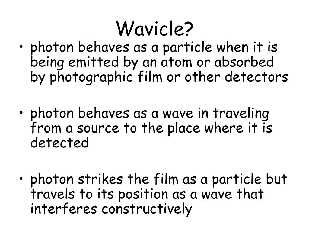 Wavicle?