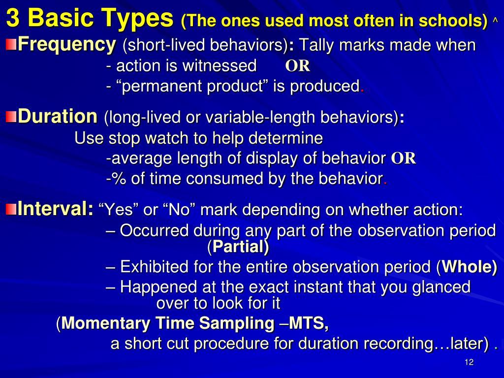 3 Basic Types