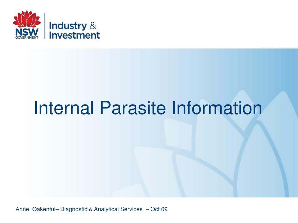 Internal Parasite Information