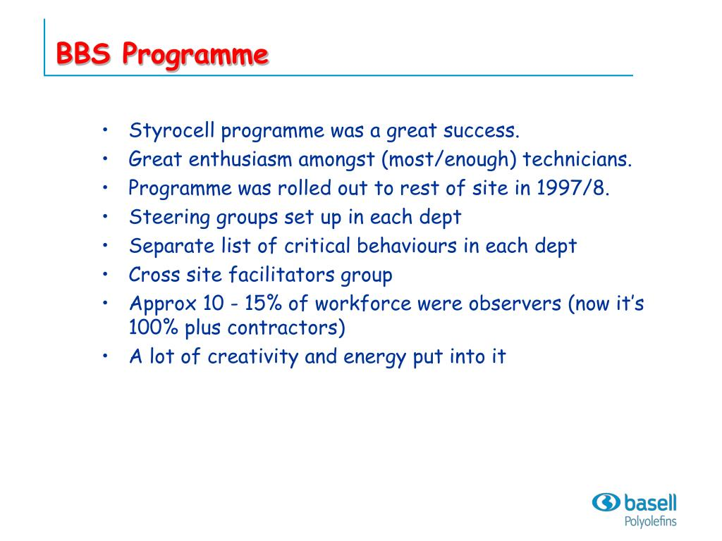 BBS Programme