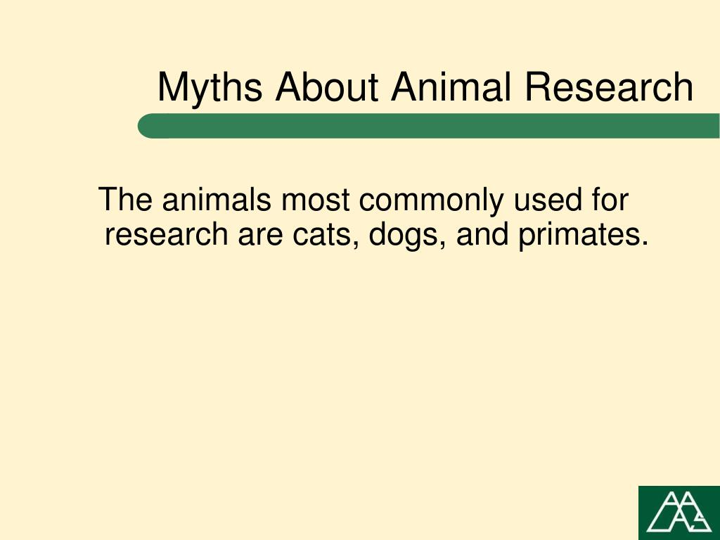 Myths About Animal Research