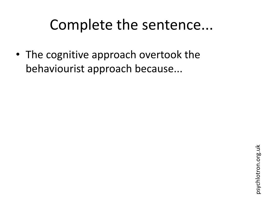 Complete the sentence...