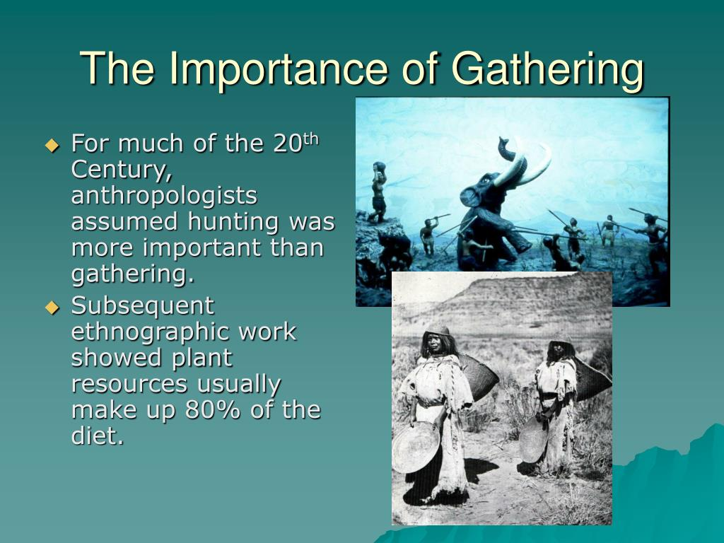 The Importance of Gathering