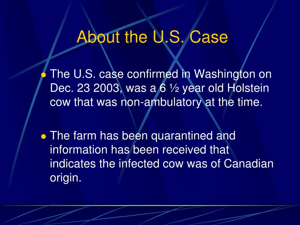 About the U.S. Case