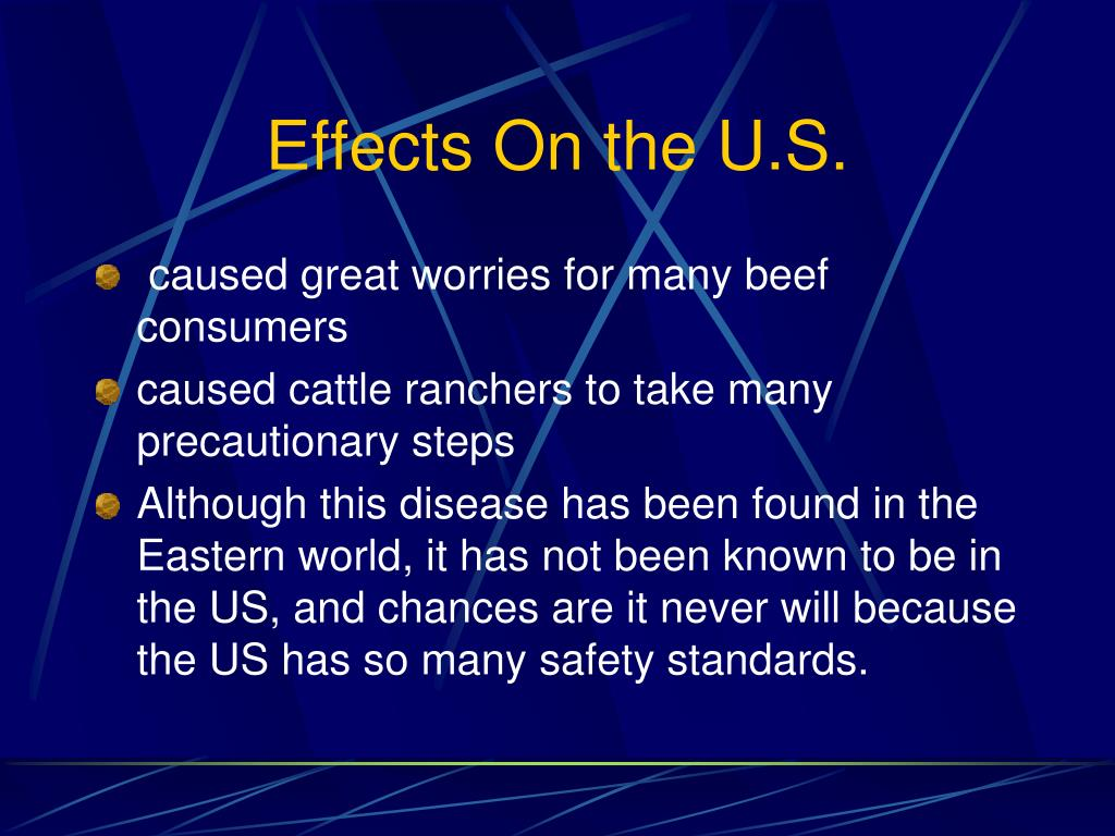 Effects On the U.S.