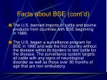 facts about bse cont d98