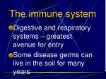 the immune system59
