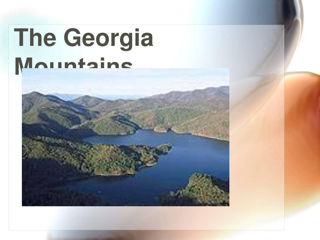 The Georgia Mountains…