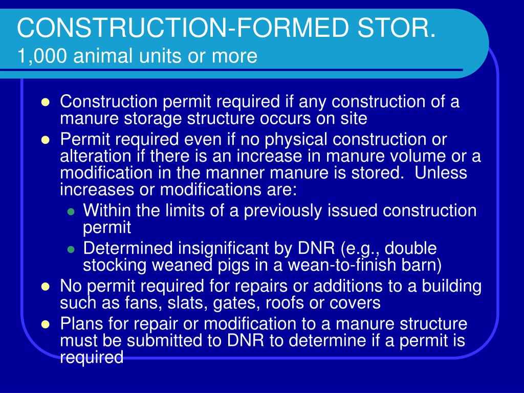 CONSTRUCTION-FORMED STOR.
