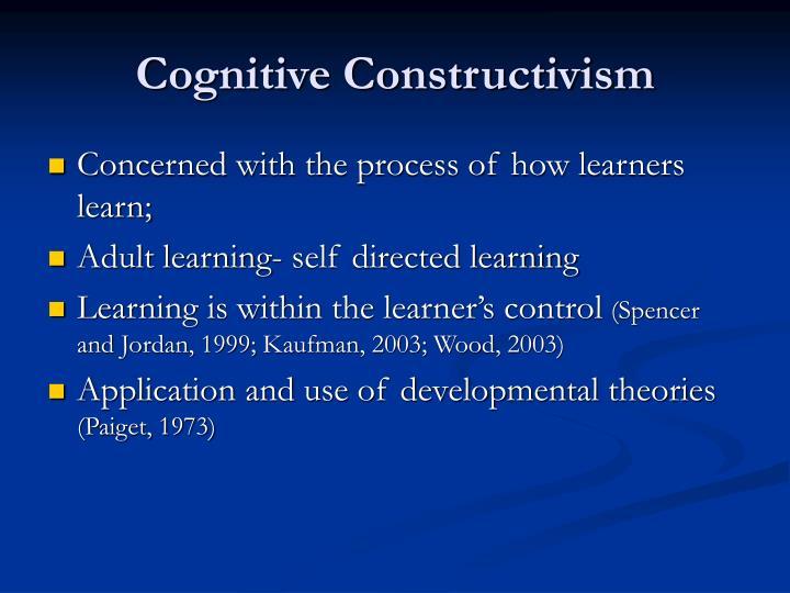 Cognitive Constructivism