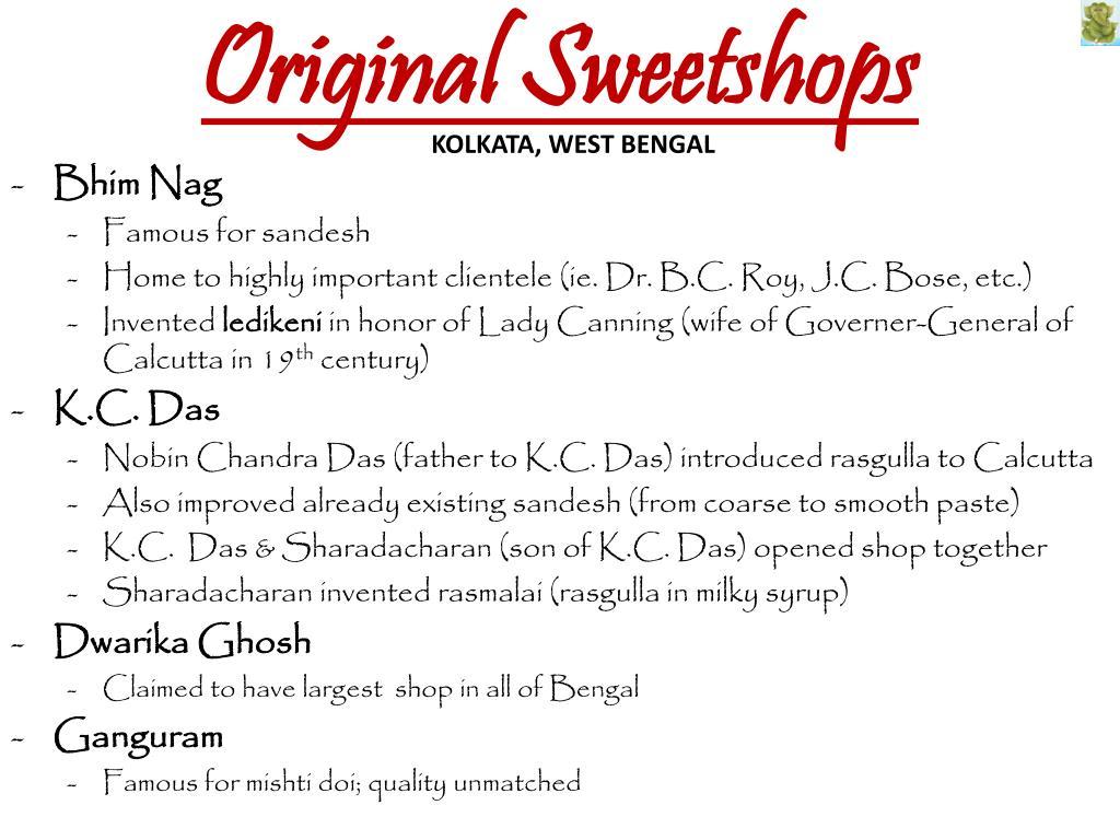 Original Sweetshops