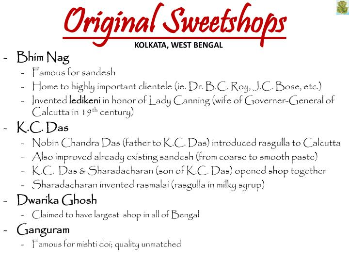 Original sweetshops