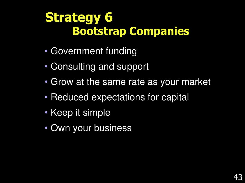 Strategy 6
