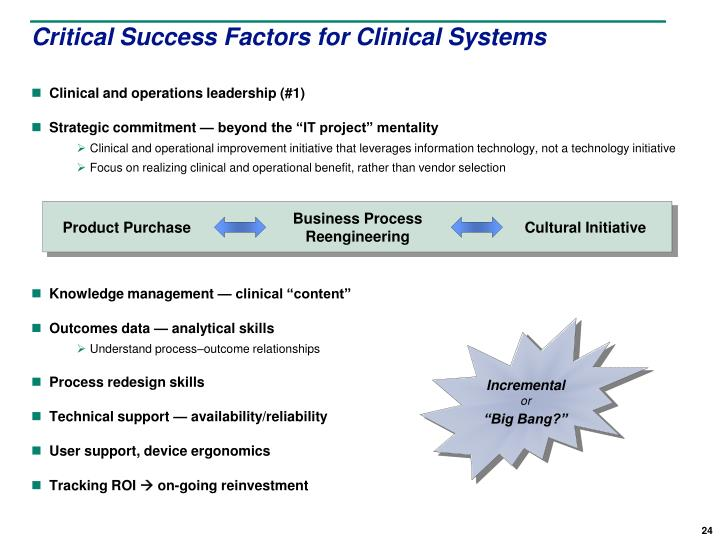 understanding critical success factor analysis