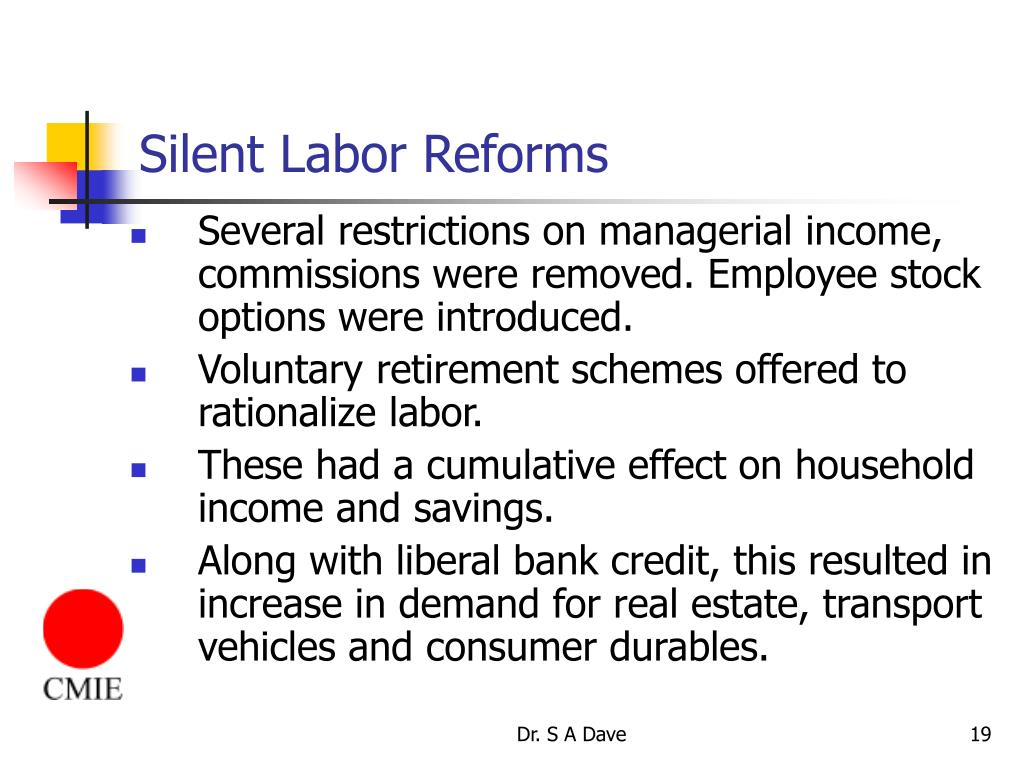 Silent Labor Reforms