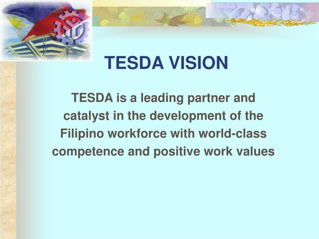 TESDA VISION
