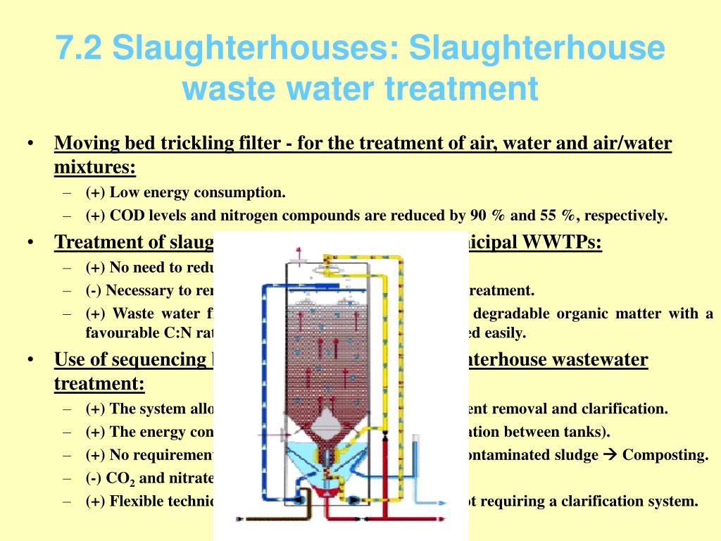 7.2 Slaughterhouses: