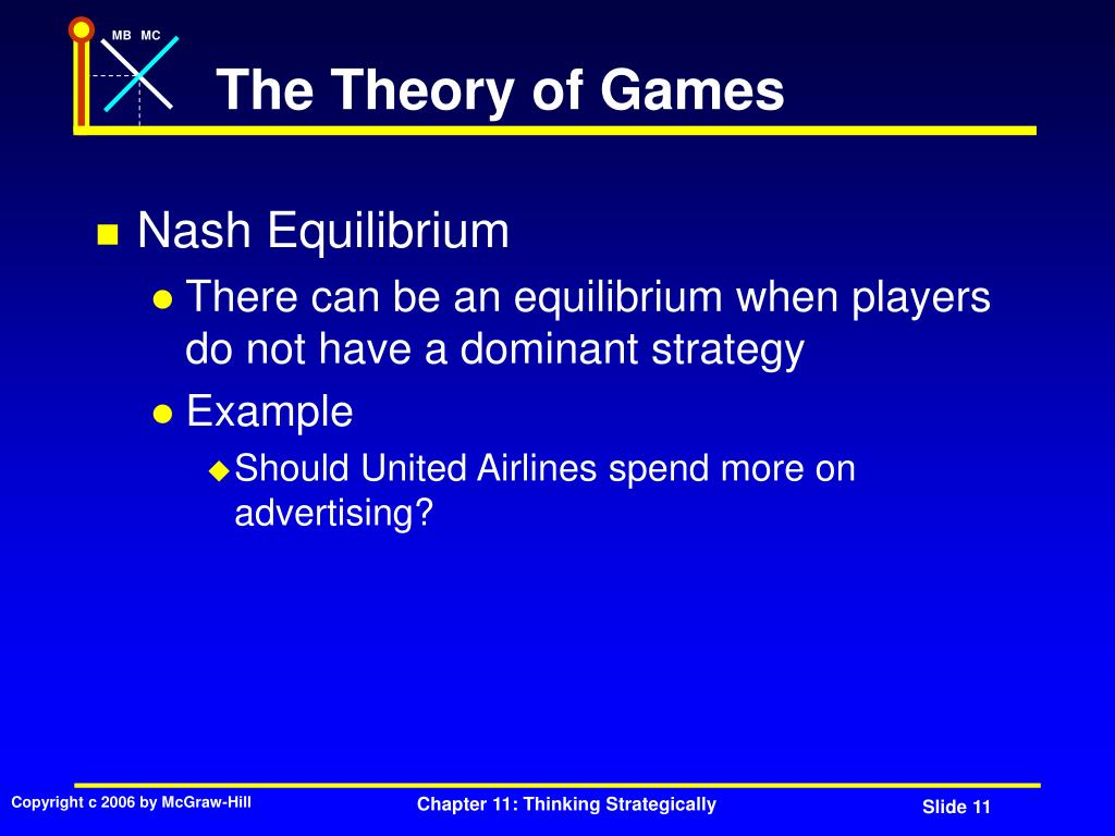 The Theory of Games