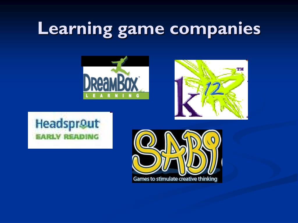 Learning game companies