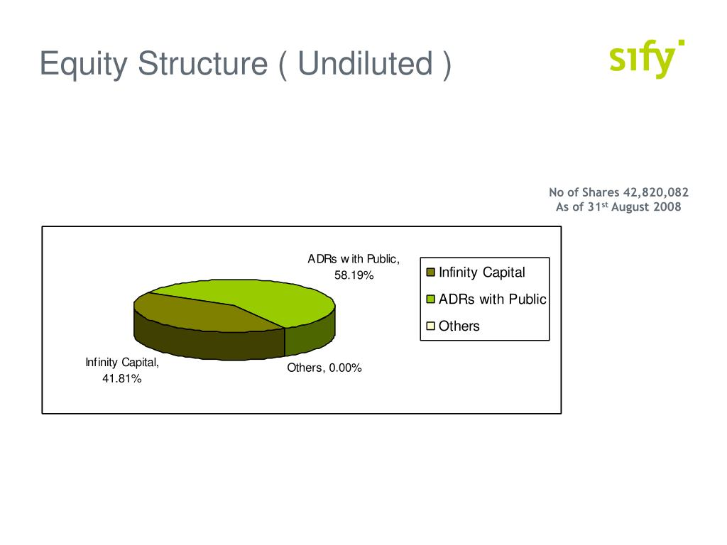 Equity Structure ( Undiluted )