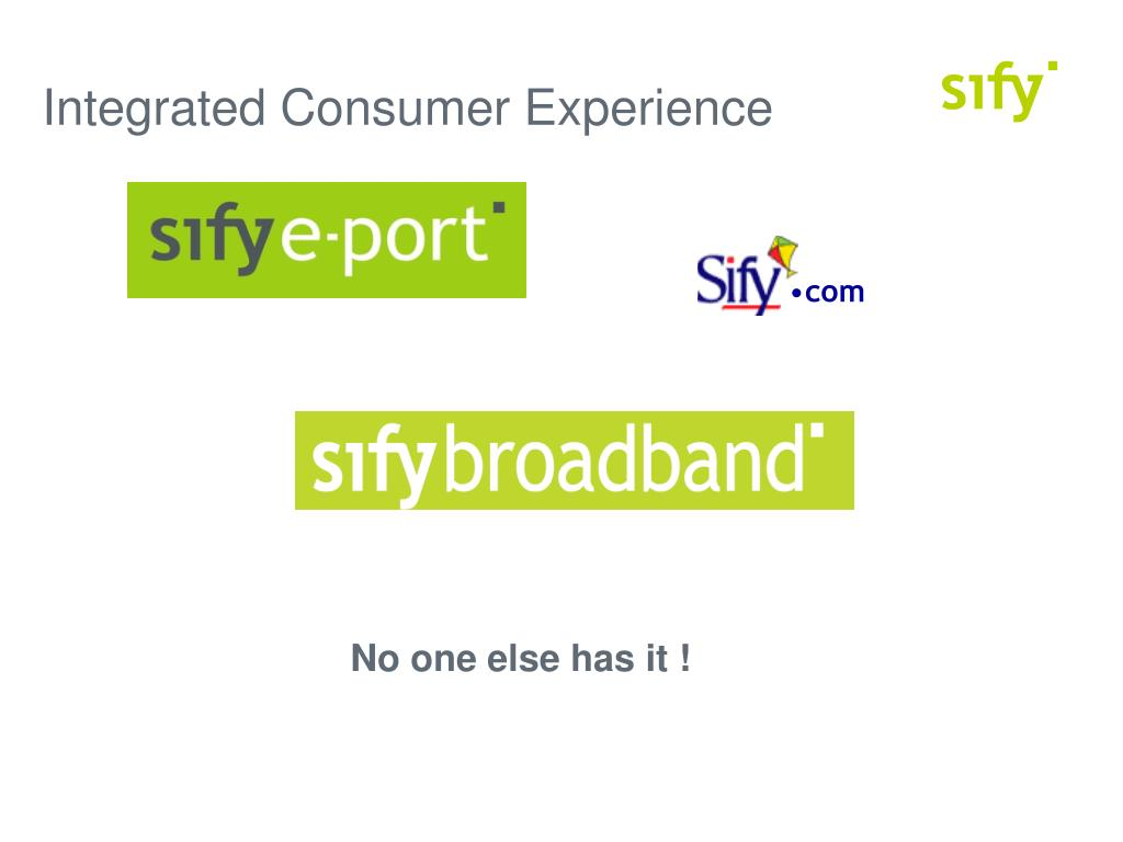 Integrated Consumer Experience