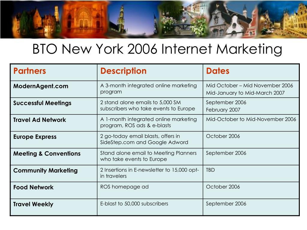 BTO New York 2006 Internet Marketing