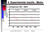 4 experimental results motor13