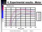 4 experimental results motor16