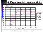 4 experimental results motor17