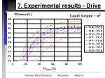 7 experimental results drive26