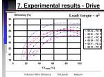 7 experimental results drive27