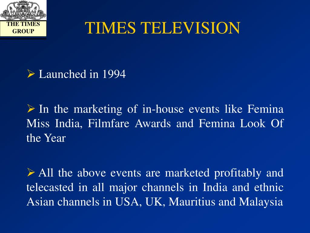 TIMES TELEVISION