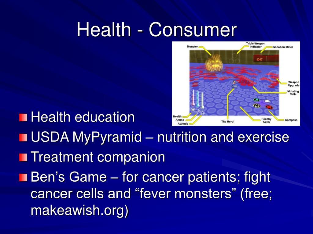 Health - Consumer