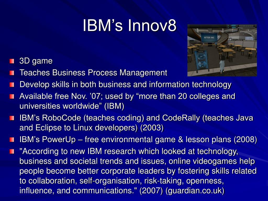 IBM's Innov8