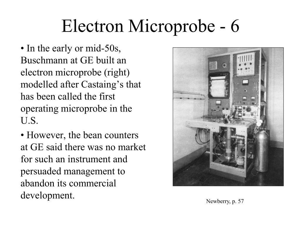 Electron Microprobe - 6