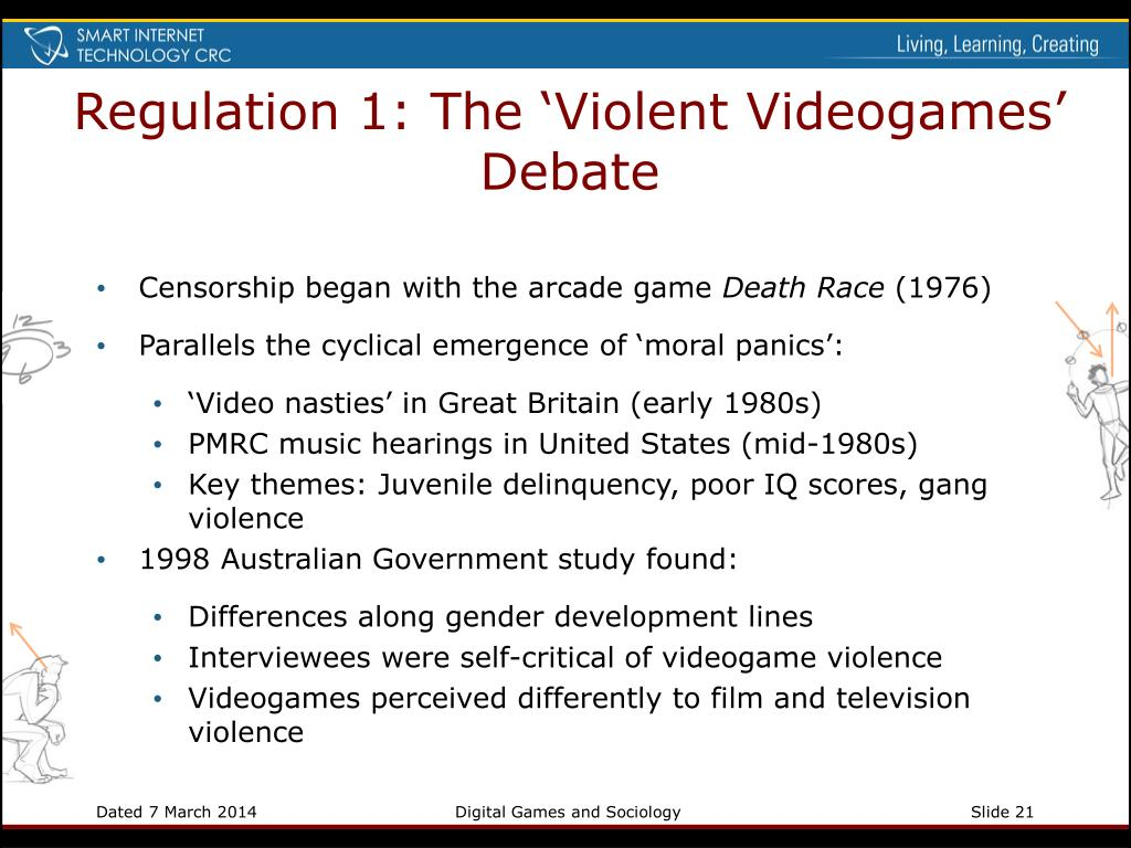 Regulation 1: The 'Violent Videogames' Debate