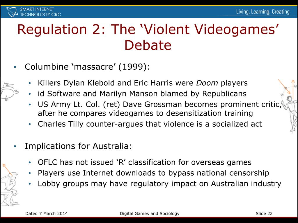 Regulation 2: The 'Violent Videogames' Debate