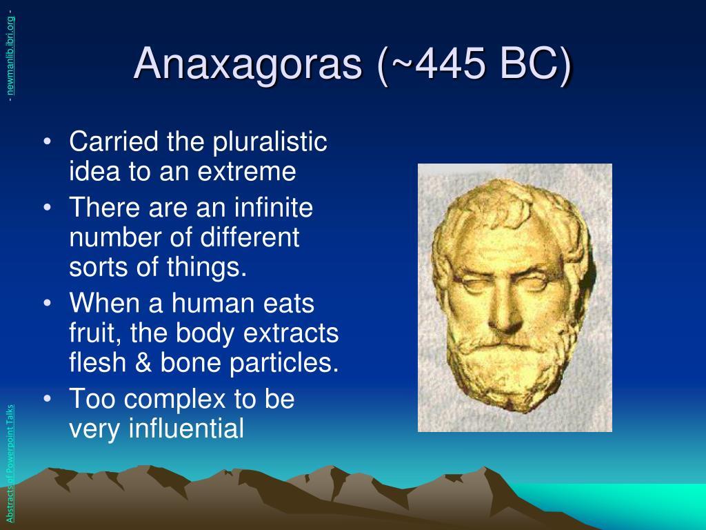 Anaxagoras (~445 BC)