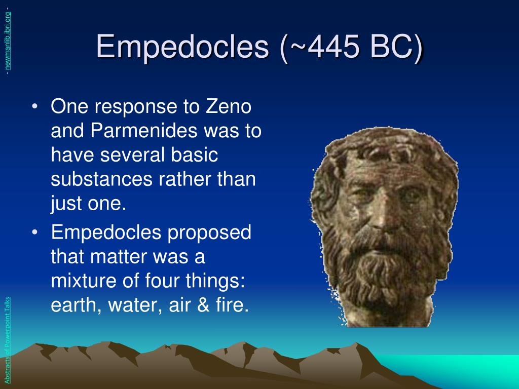 Empedocles (~445 BC)