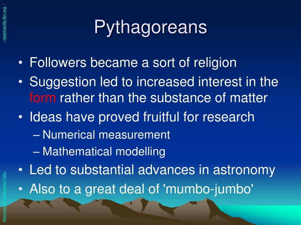 Pythagoreans