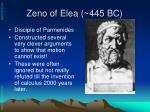 zeno of elea 445 bc