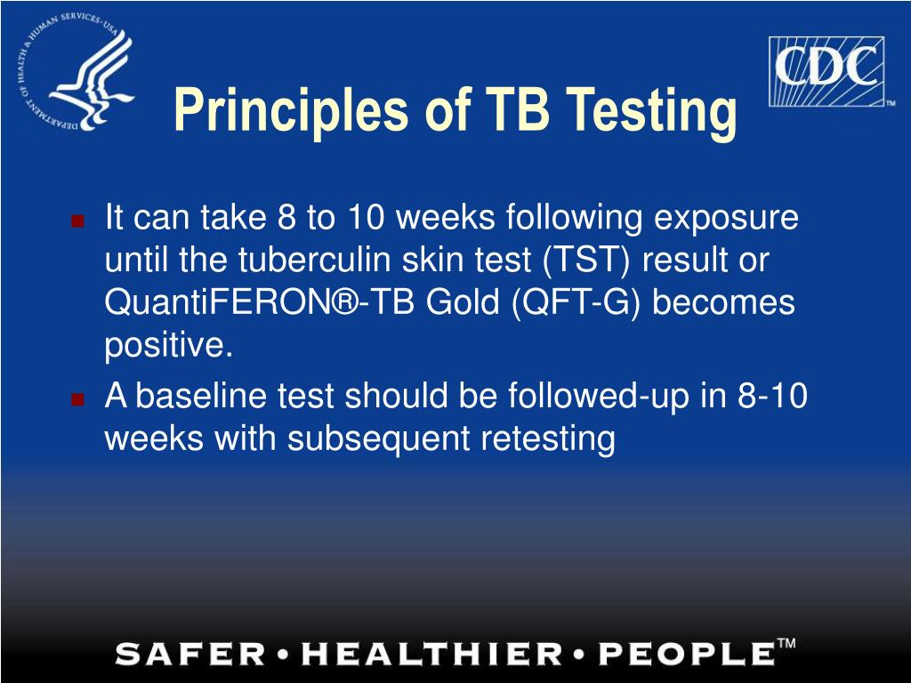Principles of TB Testing