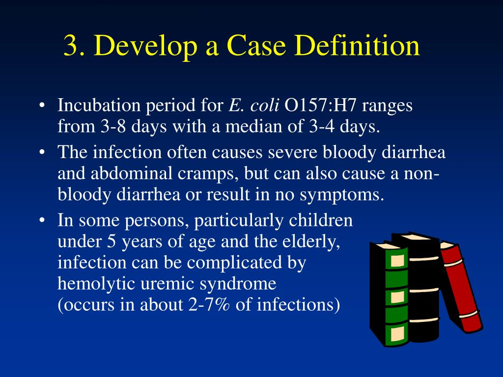 3. Develop a Case Definition